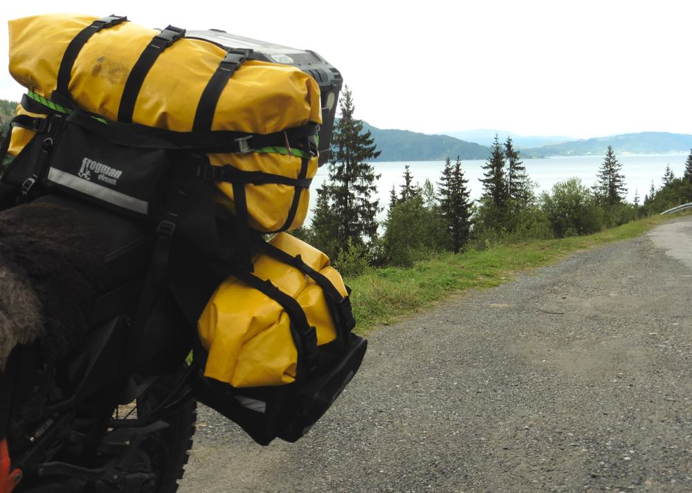 Dirtsack Frogman Tail Bag and Panniers