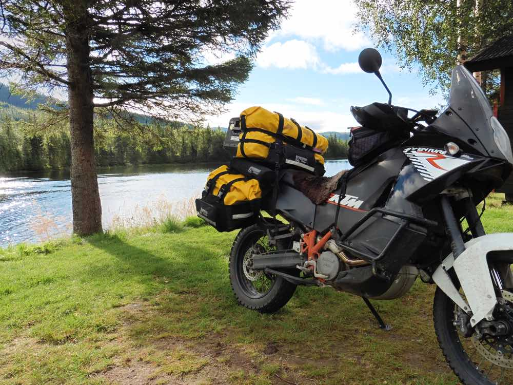 Dirtsack Frogman Panniers and Tail Bag