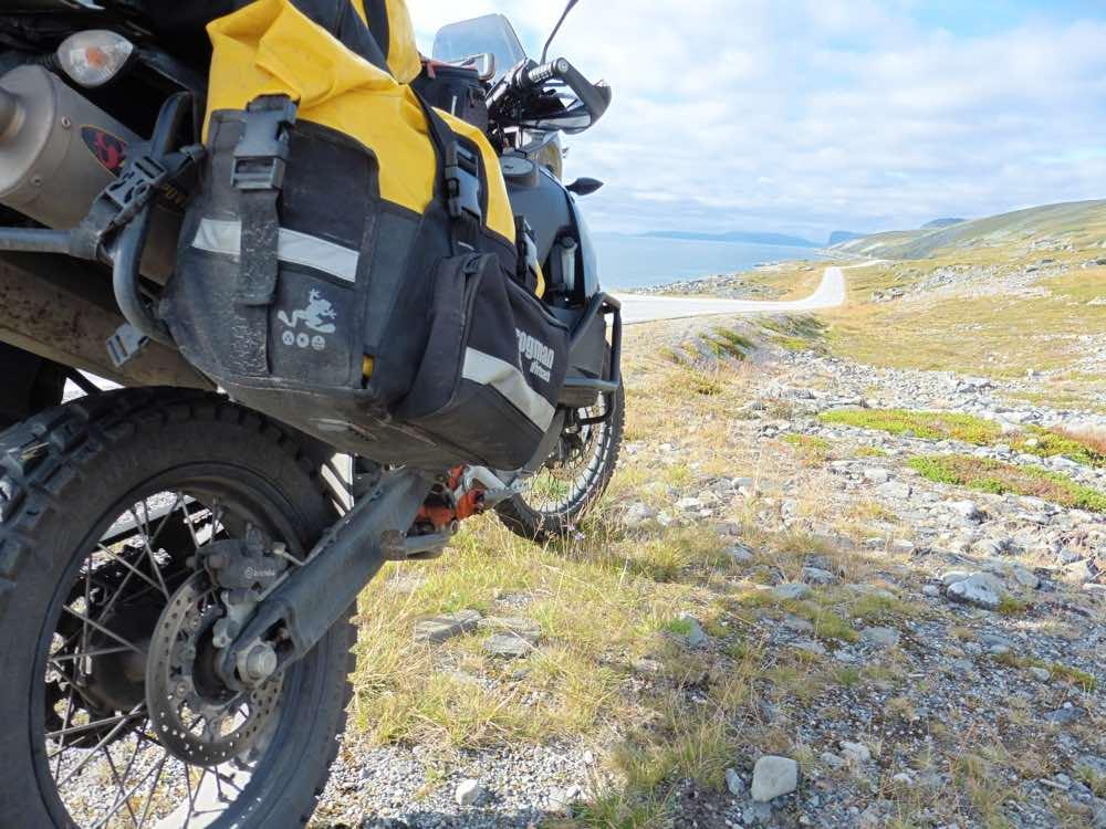 Riding gravel in Norway